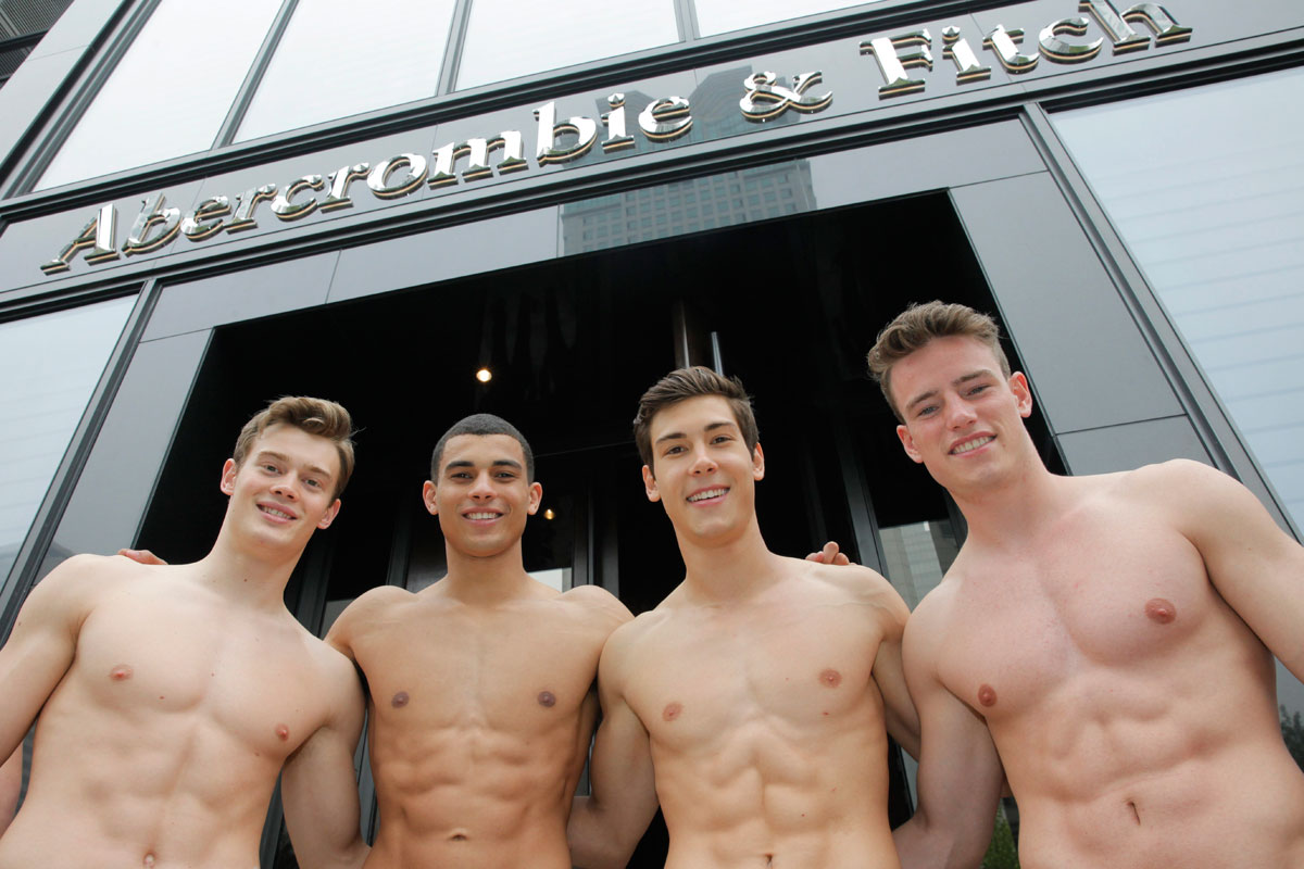 Abercrombie Fitch Male Models Nude Extreme Porn Pics