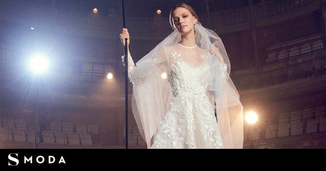 c6ee3faa14 Los 30 vestidos de novia más espectaculares de la  bridal week  de Nueva  York